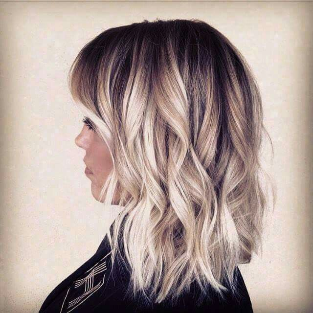 tie and dye for blonde cheveux mi long coiffures la mode de cette saison. Black Bedroom Furniture Sets. Home Design Ideas
