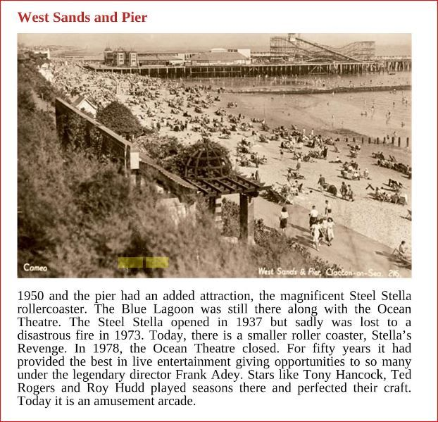 Ocean Review Clacton...Grandad was producer...fell out with Dad, never spoke again...many did not know my dad was Son of Frank Adey, who married again.