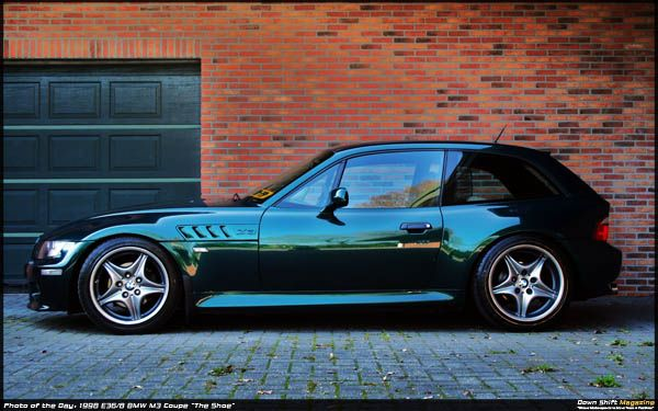 Photo of the Day: 1998 E36/8 BMW M3 Coupé