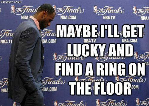 Such a funny meme. You can call me Lebron's biggest hater.
