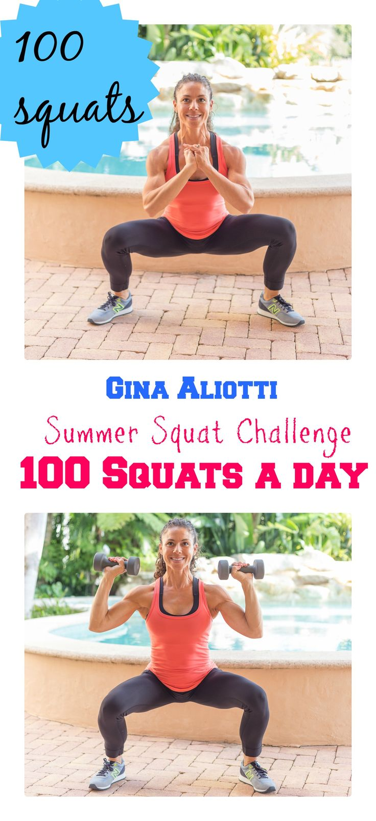 Summer Squat Challenge. 100 Squats a Day Every Day of Summer. Any Variation and Split however you wish... Goal = 100 Squats a Day!!