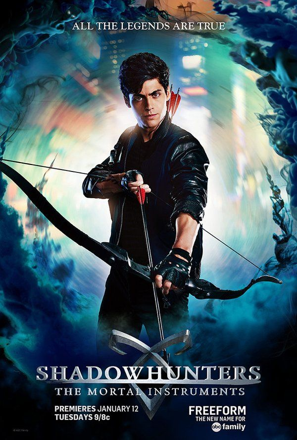 Alec Lightwood Shadowhunters TV Poster