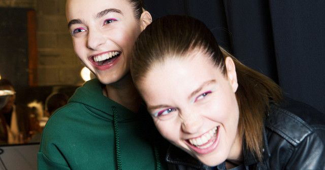 Pink eyeshadow is all over the AW17 catwalks, so we spoke to Benefit's Head Makeup Artist Lisa Potter-Dixon to find out how to wear it.