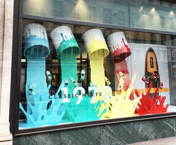 Simple Exhibition Stand Examples : Elemental design on windows everywhere else visual