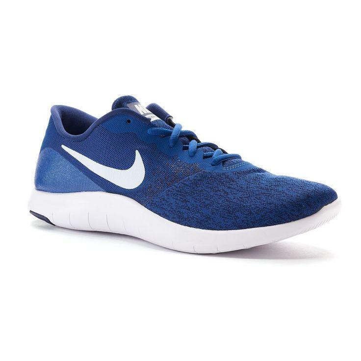 Nike Flex Contact Men's Running Shoes, Blue