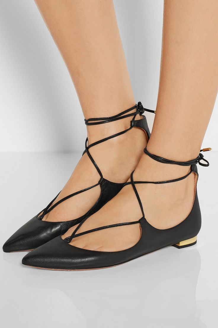 Women's Mirage Strappy Lace-up Back Shoe Flats