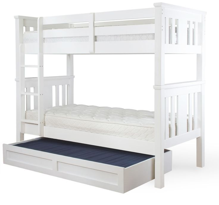 Save on the New York Bunk Bed with Trundle - King Single and a wide range of products at Beds Online