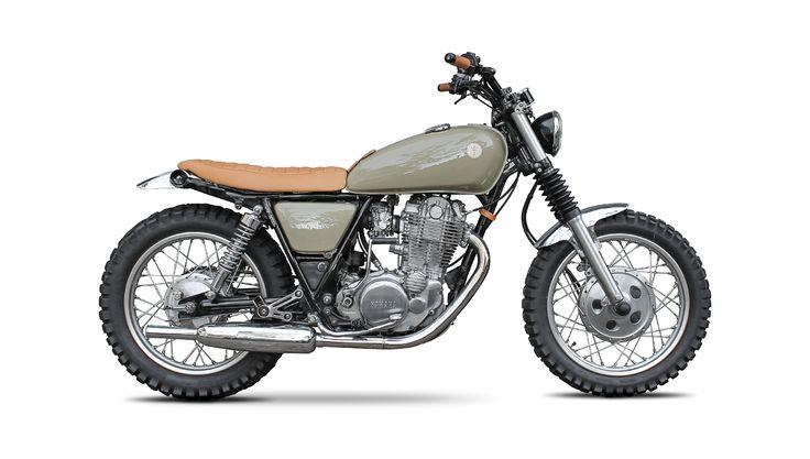 "TWINTON ""BEACH"" | Yamaha SR 500"