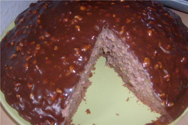 Торт «Пища богов»/можно без выпечки/