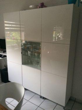 Wohnzimmerschrank Von Ikea Modell Besta Der Schrank Hat Die Masse 180 Cm X 200
