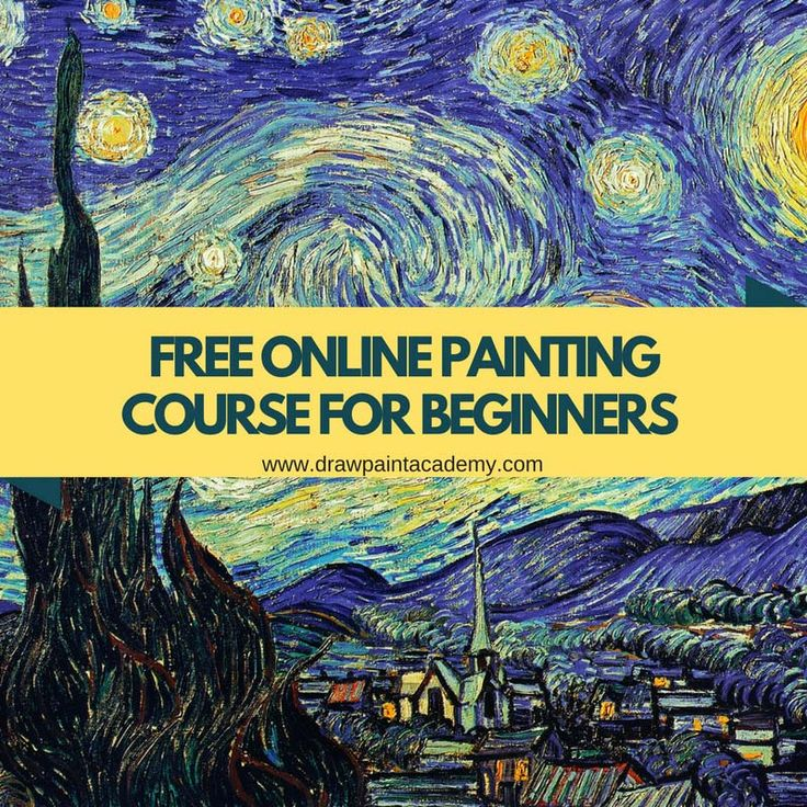 Want to learn how to paint? Check out this free online painting course for beginners. This is a 7 part course delivered by email which will introduce you to the wonderful world of painting. Sign up and a link to the first lesson will be emailed to you! http://drawpaintacademy.com/free-course-introduction-to-painting/