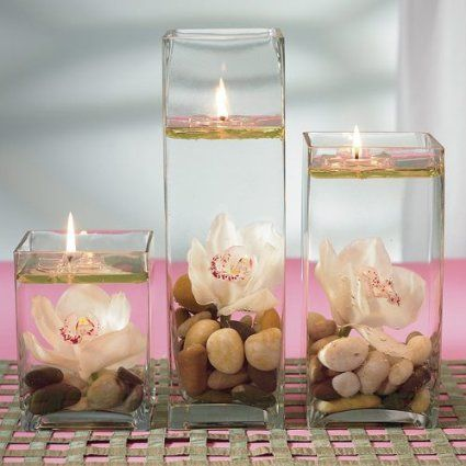 Water Candles - Romantic Floating Water Candles - Invisible Floating Candles