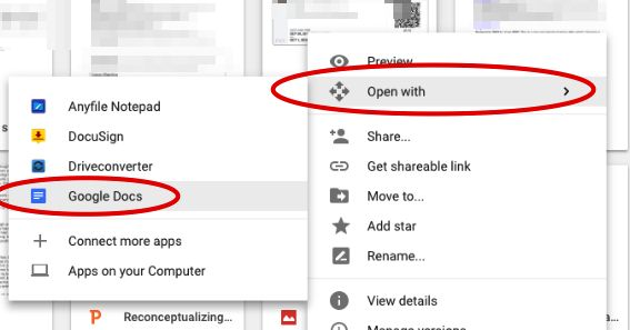 Here Is A Simple Way to Convert PDFs to Word Documents in Google Drive