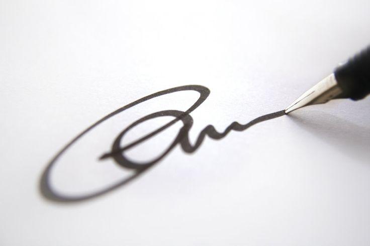 Crie sua própria assinatura pessoal em poucos segundos