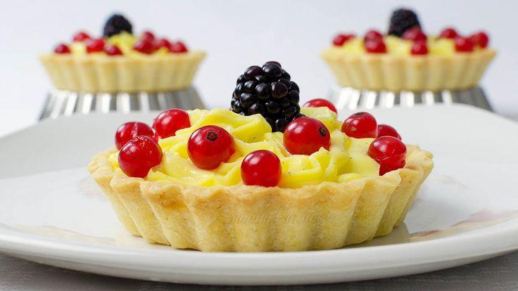 Mini tarte cu fructe | JamilaCuisine
