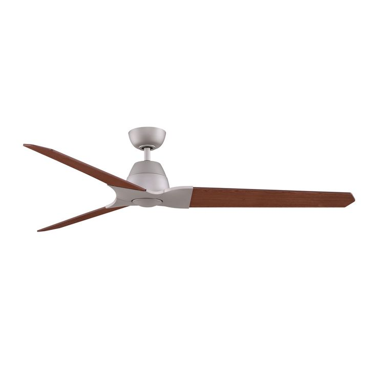 Fanimation Wylde 72 In Matte White Downrod Mount Indoor Ceiling Fan With Light Kit And Remote 3 Blade Fpd6220mw