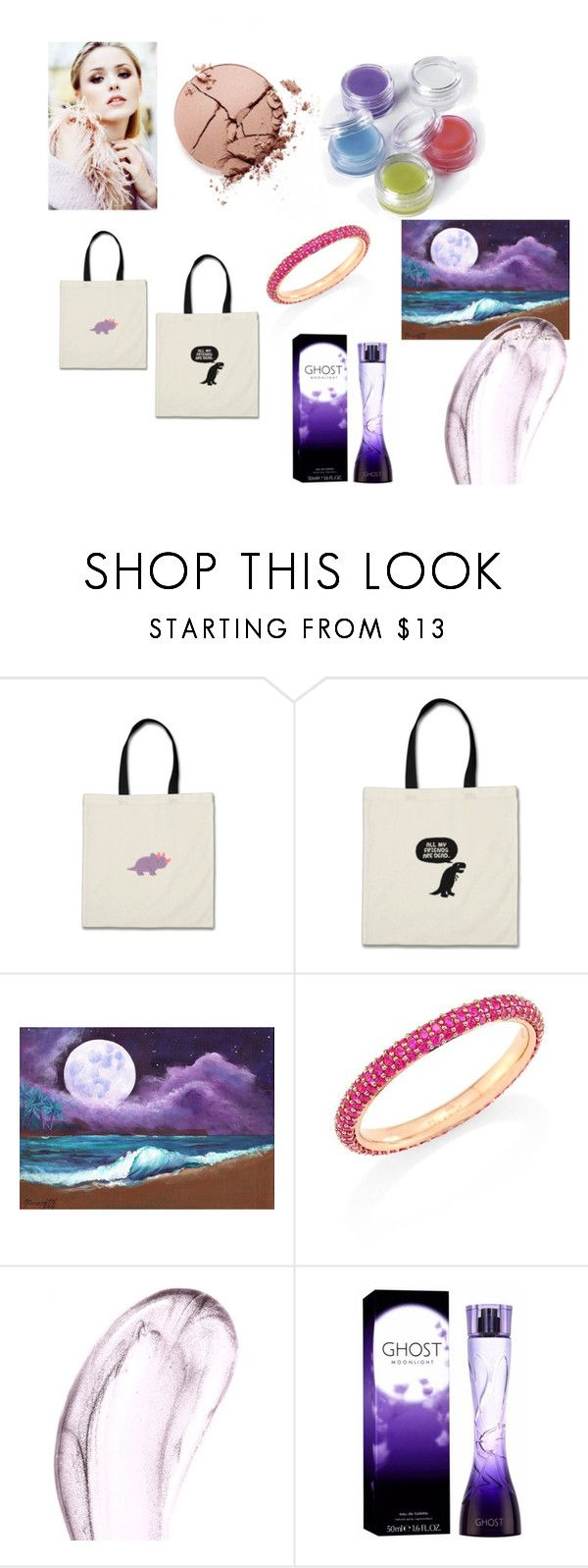 """""""Moonlight"""" by efrat-kazoum ❤ liked on Polyvore featuring tarte, Kwiat, Chantecaille and Ghost"""