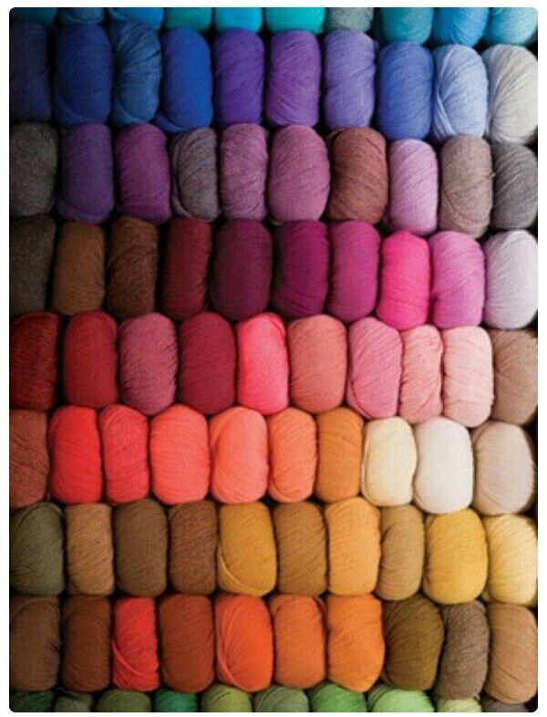 Rainbow Yarns ....