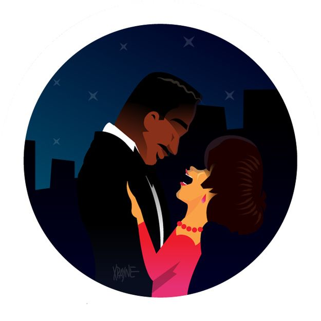 Eddie Murphy and Halle Berry in Boomerang | These Illustrations of '90s Black Pop Culture Are Amazing