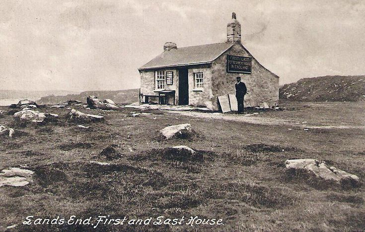 First and Last House - Land's End - Cornwall Guide Photos. Bennett Grey is most likely staying in an old house in Cornwall such as this ancient one at Land's End.