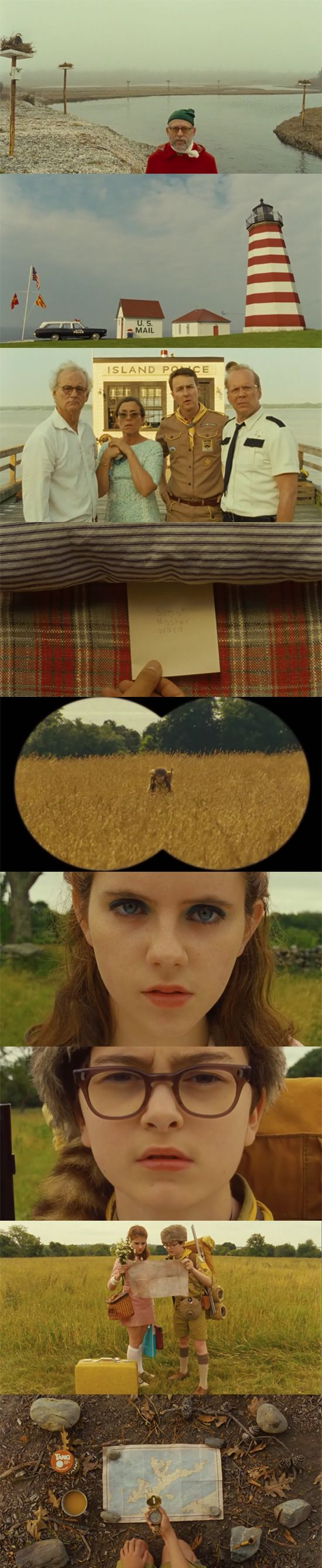 Moonrise Kingdom (2012) - Cinematography Robert Yeoman | Directed by Wes Anderson