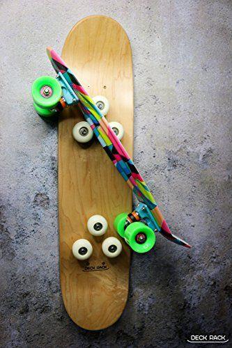 skateboard and longboard rack kimo by deckrack on etsy - Skateboard Regal Kinder Schlafzimmer