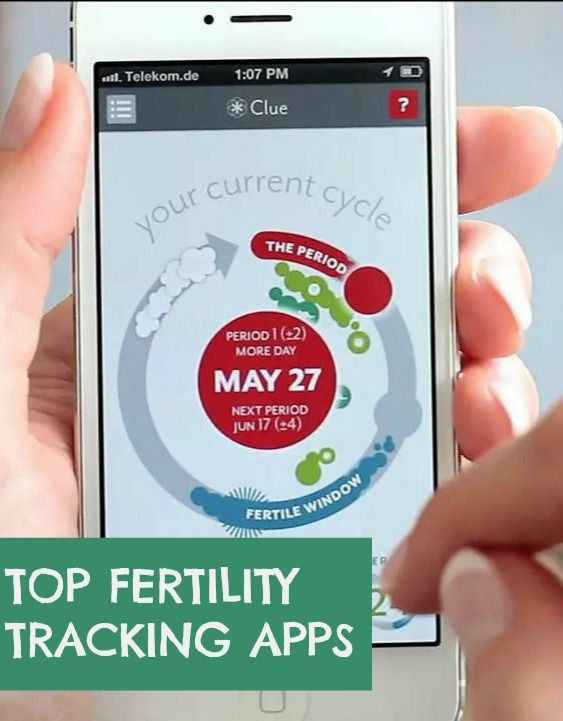 What are the best fertility tracking apps to track your period and help you get pregnant? Here's a round up of the top apps for TTC.