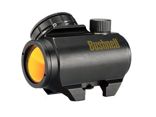 Bushnell Trophy Red Dot TRS-25 3 MOA Red Dot Reticle Riflescope, 1x25mm (Matte) - http://www.binocularscopeoptics.com/bushnell-trophy-red-dot-trs-25-3-moa-red-dot-reticle-riflescope-1x25mm-matte/