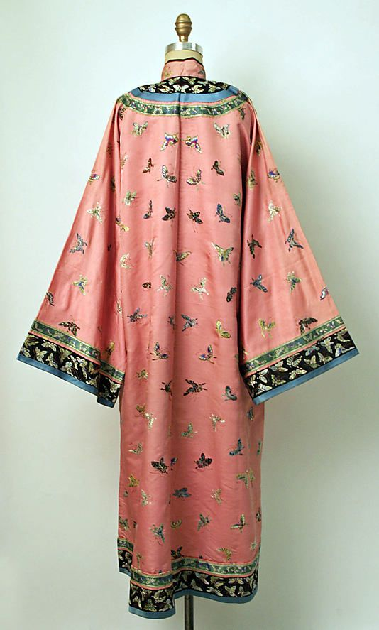 19th century Chinese Women's Robe // Medium: silk // Dimensions: Length at CB: 53 1/2 in. (135.9 cm) // Credit Line: Gift of Polaire Weissman, 1978 // Accession Number: 1978.252.5