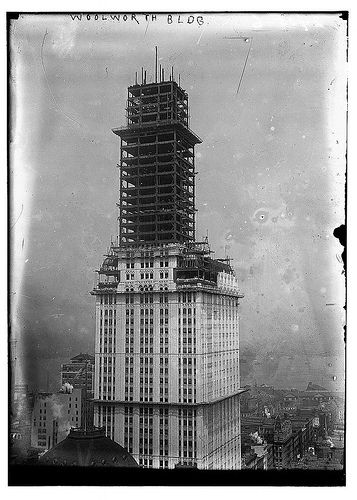 Woolworth bldg. (LOC) by The Library of Congress, via Flickr