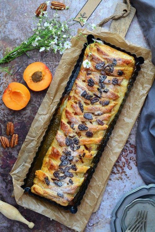 Sárgabarackos-pekándiós pite recept