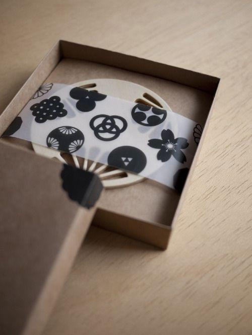 collectorandco: japanese KAMON coasters