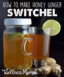 How to Make a Ginger Honey Switchel Drink | DIY Homemade Lotions &Body ...