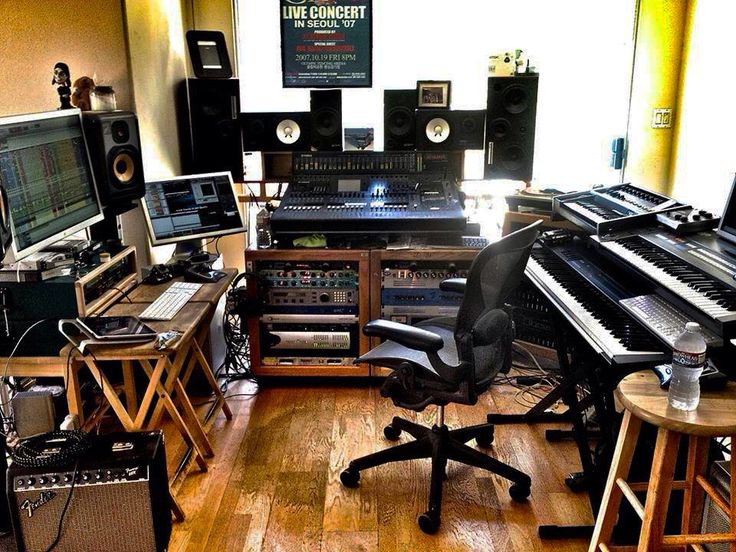 288 best images about home studio setups on pinterest home recording studios dj gear and - Home studio ...