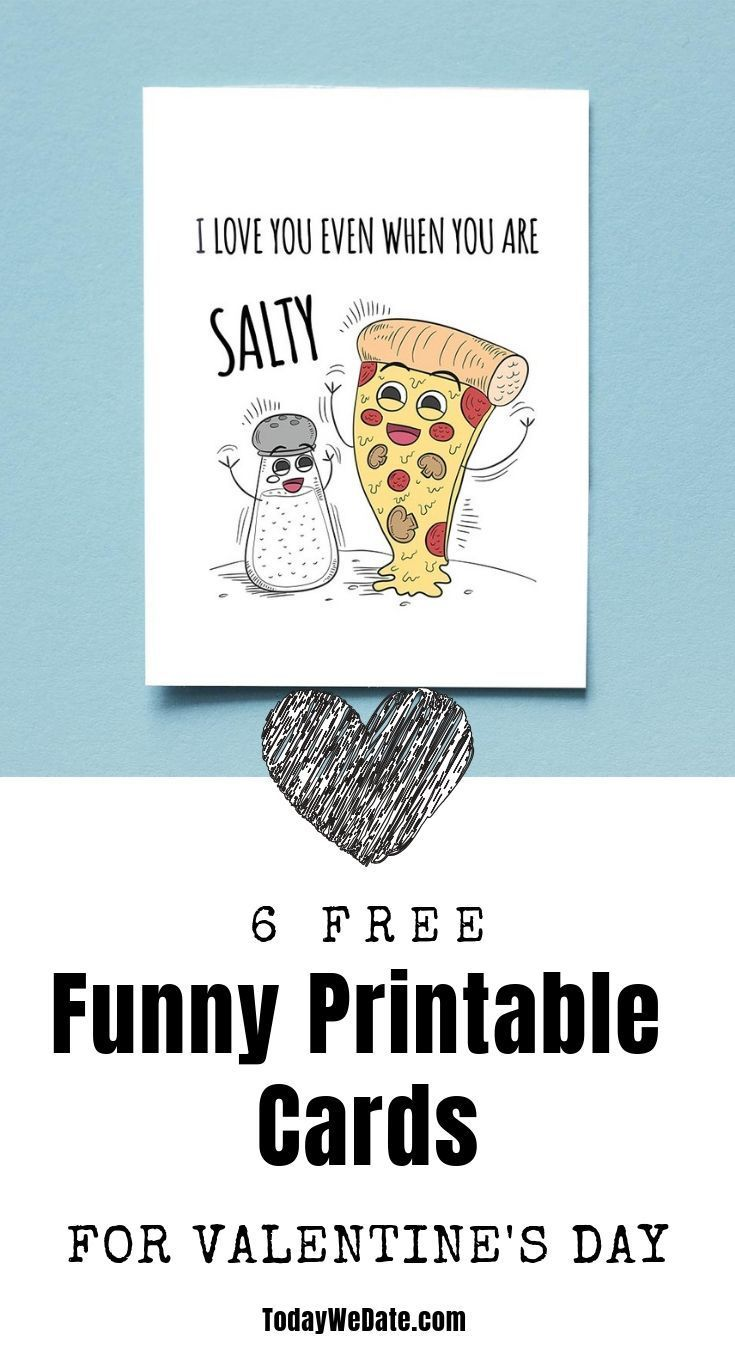 picture regarding Funny Printable Valentines titled 6 Totally free Hilarious Printable Valentines Working day Playing cards Present