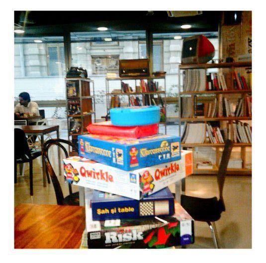 Games@ Institute, The Cafe www.facebook.com/Institute.ro