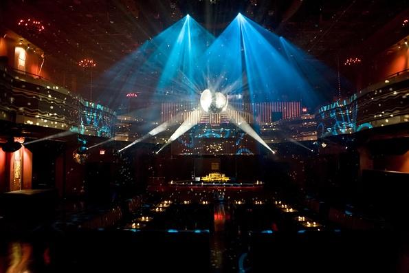 Main Dancefloor at The World