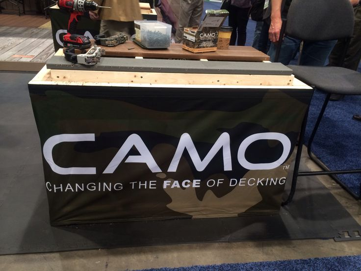 Camo-Changing the face of decking NAHB International Builders Show- Las Vegas #hoodle