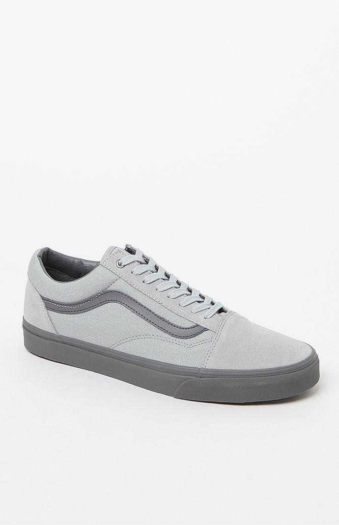 C&D Old Skool Pewter Shoes