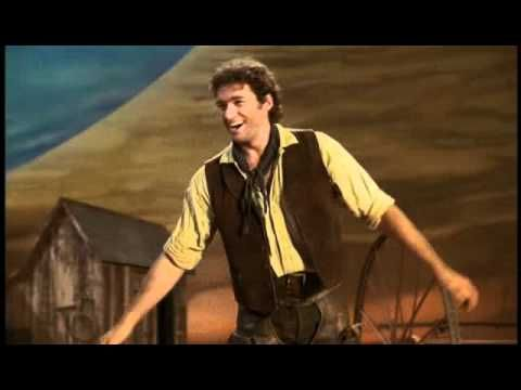 Oklahoma - Oh What a Beautiful Morning (Hugh Jackman). Oklahoma - Oh What a Beautiful Morning (Hugh Jackman). This clip is anachronistic, of course, as Hugh Jackman wouldn't be singing this in 1964, but that's okay. The clip is for reference, texture, fun. It's great, too. :>