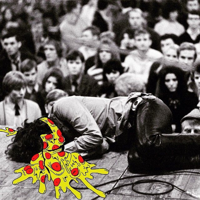 They'll eat you alive +:) #digitaldeathandgrime #deladeso #jimmorrison #thedoors