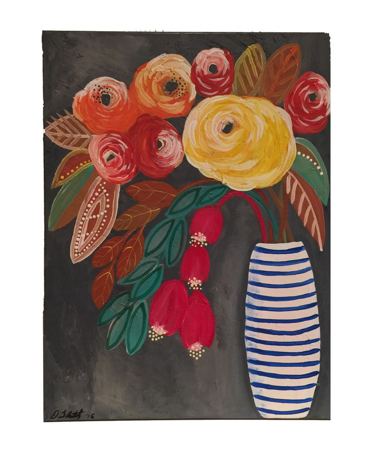 "Abstract Flower Number  Twelve 18"" x 24"" x 3/4"" by Diane Tkatch Found on http://laserspiderart.com"