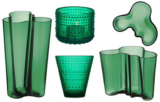 All new Emerald jewels in glass new for 2016 , at Cloudberry Living Trendenser.se - en av Sveriges största inredningsbloggar