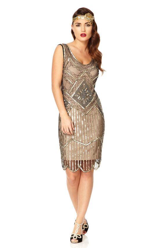 Conseils de montage : ma robe tailles sont fidèles à son dimensionnement (ne pas exécuter de petites tailles) inspiré par le glamour de lépoque de