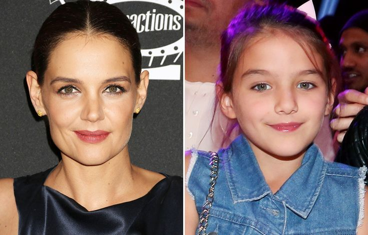 Celebrity Kids Who Look Just Like Their Famous Parents - Katie Holmes and Suri Cruise  - from InStyle.com