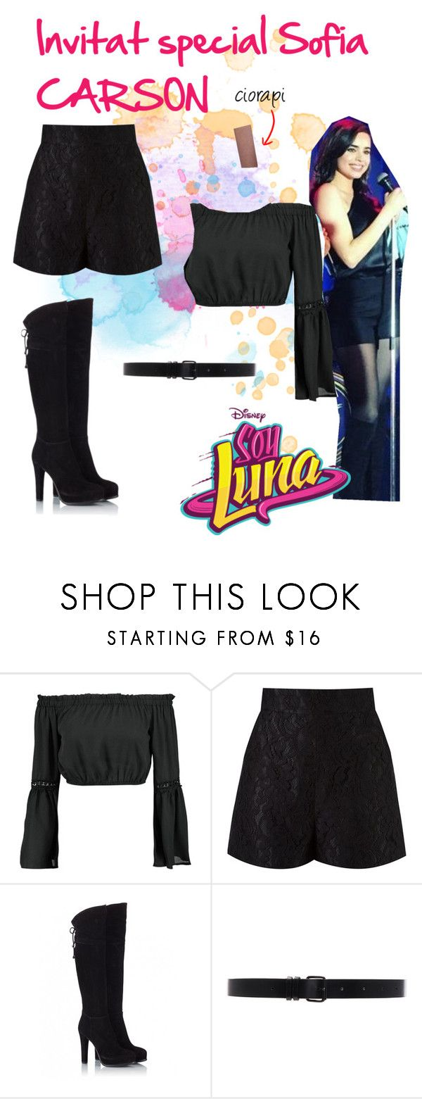 """""""soy luna"""" by maria-look on Polyvore featuring Boohoo, Martha Medeiros, Fratelli Karida, Ann Demeulemeester and Gipsy"""