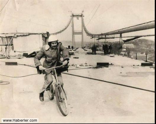 Boğaziçi Köprüsü İnşaatı