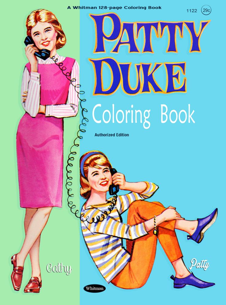 283 best Coloring Books images on Pinterest | Vintage coloring books ...