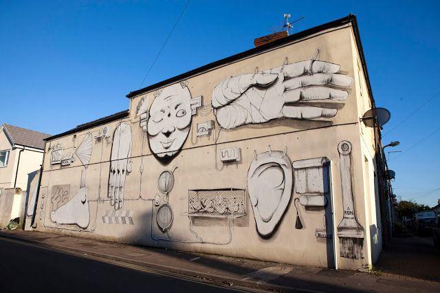 RUN  .. for Empty Walls ..  [Cardiff, Wales 2013] (1)