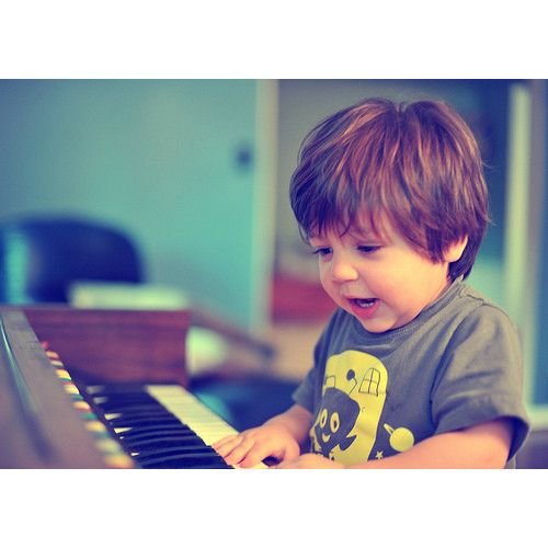 I will teach my children how to play the piano!